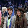 Charlotte Casiraghi, Jessica Springsteen lors de l'épreuve Style & Sport Competition for AMADE au troisième jour du Gucci Paris Masters à Villepinte le 6 décembre 2014