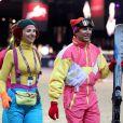 Electra Niarchos et Philippe Rozierlors de l'épreuve Style & Sport Competition for AMADE au troisième jour du Gucci Paris Masters à Villepinte le 6 décembre 2014