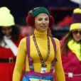 Electra Niarchos lors de l'épreuve Style & Sport Competition for AMADE au troisième jour du Gucci Paris Masters à Villepinte le 6 décembre 2014