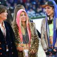 Charlotte Casiraghi, la princesse Caroline de Hanovre et Edwina Tops-Alexanderlors de l'épreuve Style & Sport Competition for AMADE au troisième jour du Gucci Paris Masters à Villepinte le 6 décembre 2014
