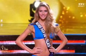 Camille Cerf : Bikini et robe de princesse, la folle soirée de Miss France 2015...