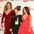 Khloé Kardashian, Kim Kardashian et Kourtney Kardashian à Los Angeles, le 2 mars 2014.