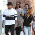 Chris Brown and girlfriend out for some shopping in Beverly Hills, Los Angeles, CA, USA on October 28, 2014. Photo by Patron/Broadimage/ABACAPRESS.COM29/10/2014 - Los Angeles