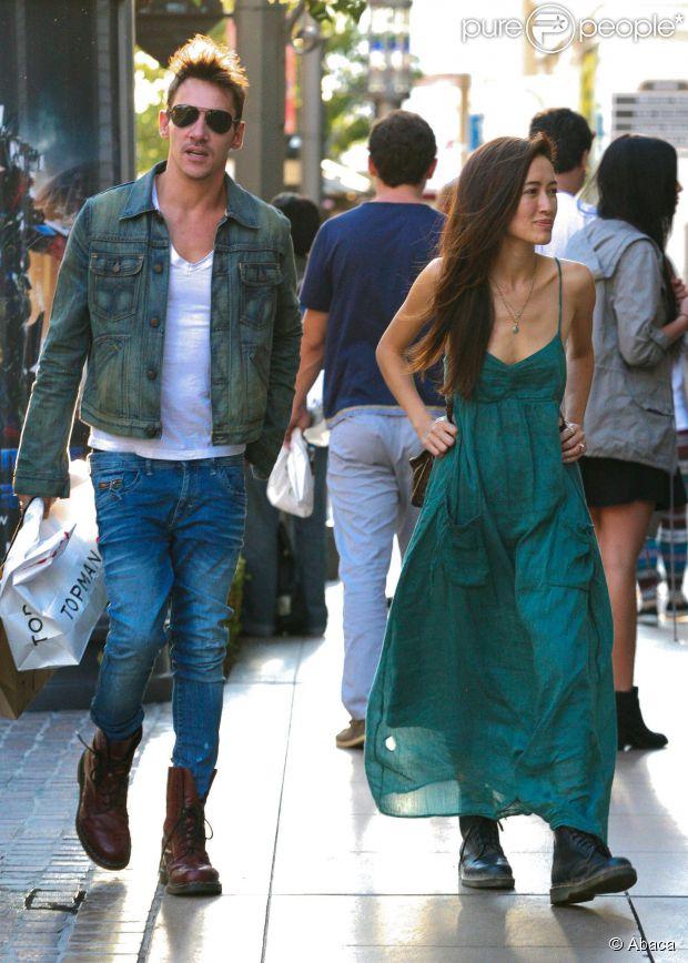 Jonathan Rhys Meyers And Girlfriend 2013 Jonathan Rhys-M...