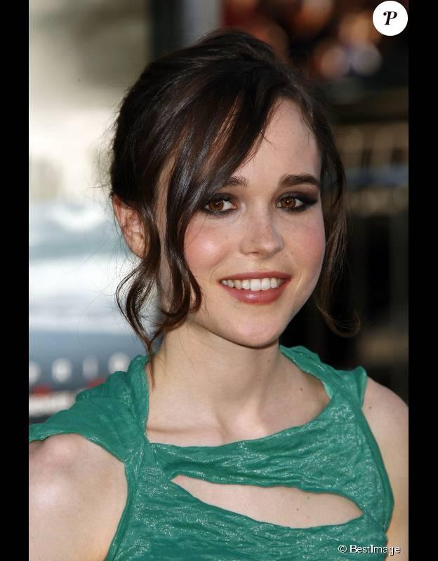 Ellen Page à l'avant-première du film Inception, à Los Angeles, le 13 juillet 2010.