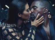 Kim Kardashian et Kanye West : Couple d'égéries stylées pour Balmain