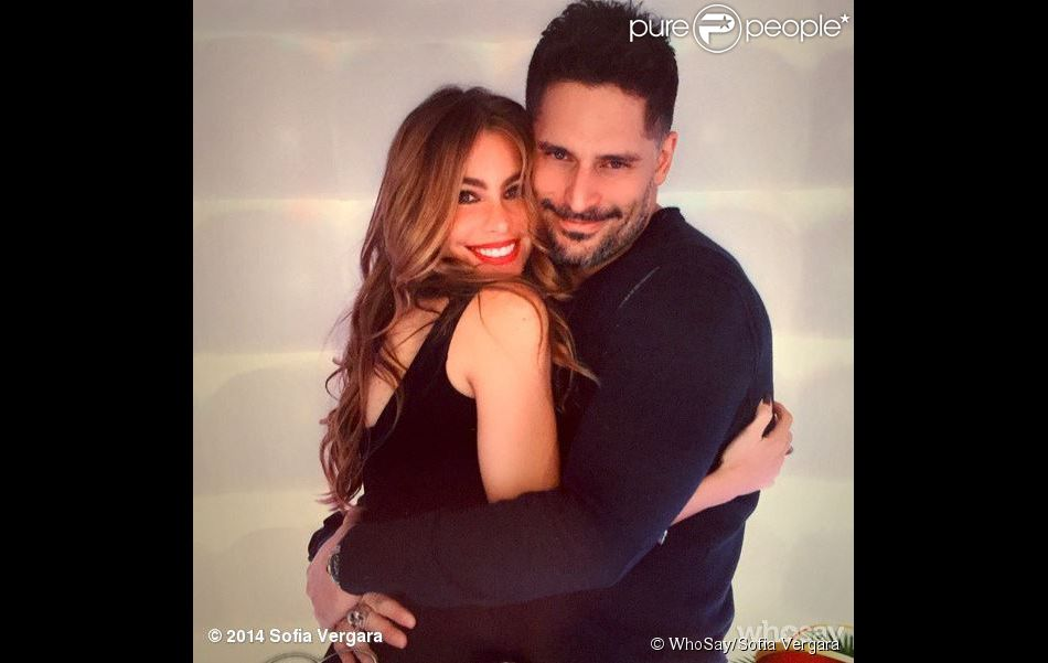Sofia Vergara et Joe Manganiello, photo postée le 28 décembre 2014