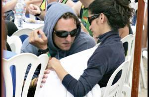 PHOTOS : Matthew McConaughey, en plein effort... soutenu par sa femme et son fils !
