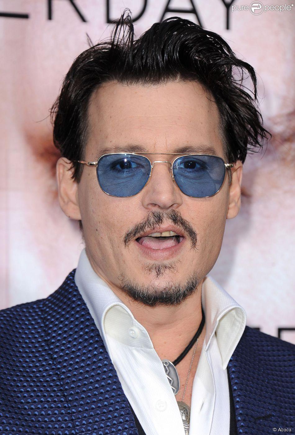 Johnny Depp à Los Angeles le 10 avril 2014.