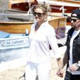Cameron Diaz et Benji Madden à Beaulieu-sur-Mer en France le 26 juillet 2014