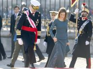 Letizia d'Espagne : Somptueuse au bras de Felipe, pour leur rentrée solennelle