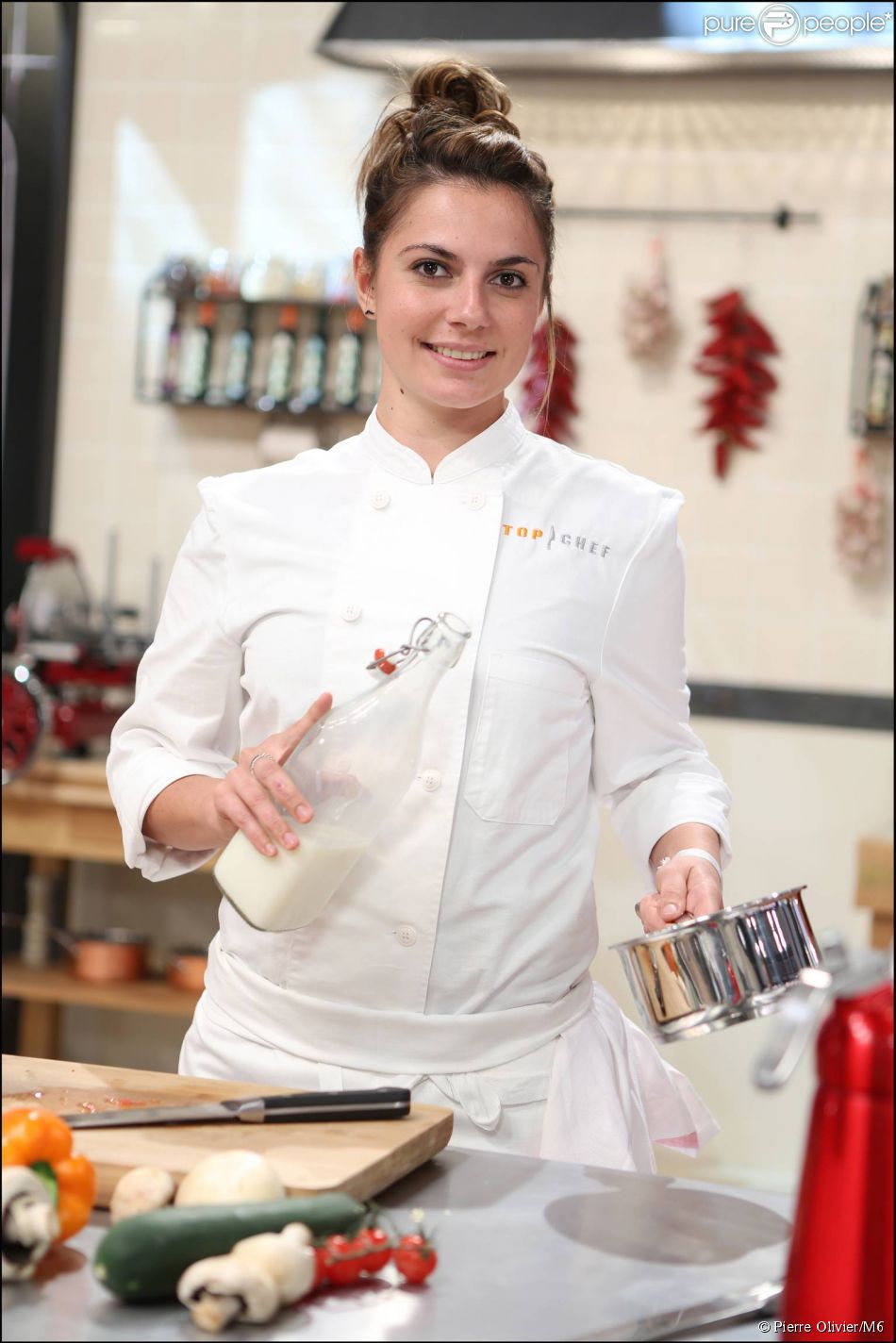 Harmony Brioude, candidat à Top Chef 2015.