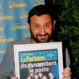 """Cyril Hanouna - Soirée de la 2e édition """"Les étoiles du Parisien"""" à la Bellevilloise à Paris le 15 décembre 2014."""