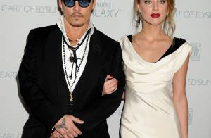 Johnny Depp et sa fiancée Amber Heard : Réunis en beauté face aux rumeurs