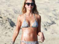 Jessica Alba : Sculpturale à la plage et maman poule avec ses filles