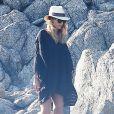 Exclusif - Jessica Alba et son mari Cash Warren en vacances en famille à Cabo San Lucas au Mexique depuis le 1er janvier 2015.