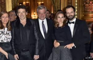 Natalie Portman, son amoureux et Patrick Bruel : Une nuit à l'Opéra...