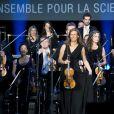 Anne Gravoin - 40e anniversaire du Conseil Pasteur-Weizmann à l'Opéra Garnier à Paris le 12 janvier 2015.