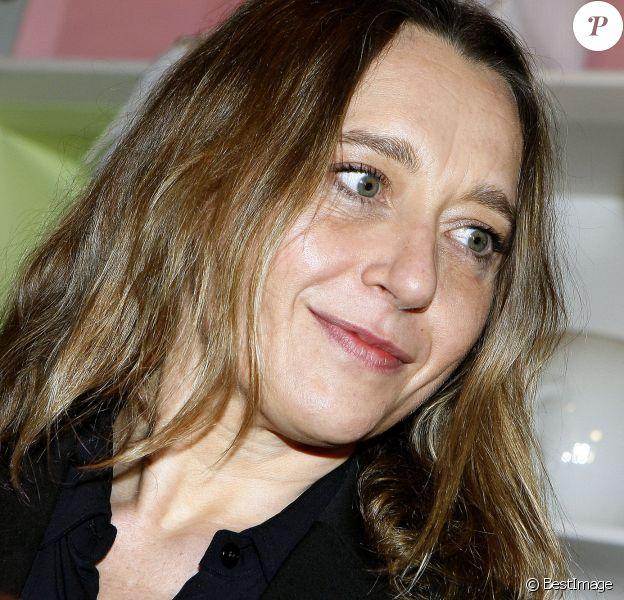 Virginie Despentes à Paris, le 20 mars 2012.