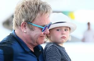 Elton John fête (déjà) les 2 ans de son fils Elijah