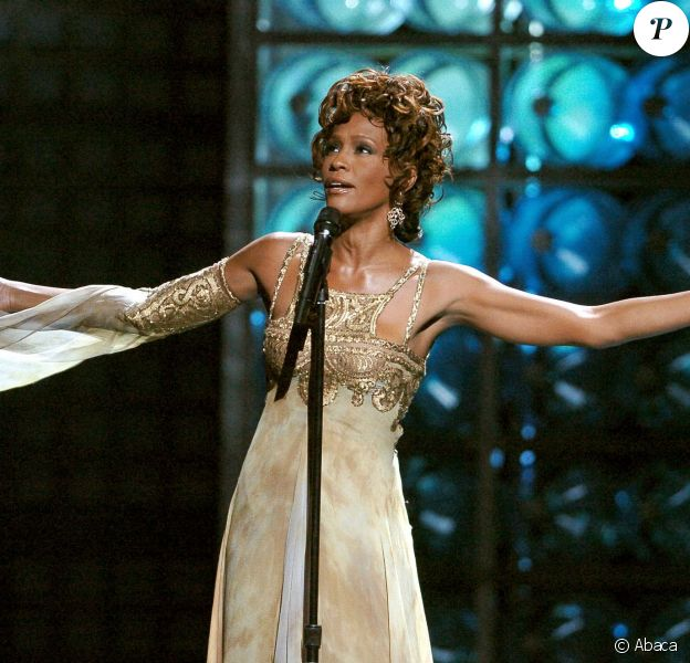 Whitney Houston aux World Music Awards à Las Vegas le 15 septembre 2004
