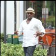 Bobby Brown sort du restaurant The Sushi Samba le 26 septembre 2010