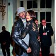Bobby Brown et Whitney Houston à Londres pour la sortie de l'album My Love Is Your Love le 14 novembre 1991