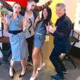 Le jury de L'Asie a un Incroyable Talent : Anggun, Mel C, David Foster et Vaness Wu. Une sacrée ambiance !