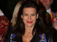 Stephanie de Monaco : Sexy en cuir pour une soirée festive avec sa fille
