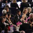 Le prince Carl Philip de Suède, avec sa fiancée Sofia Hellqvist (en BCBGMAXAZRIA), assistait au Gala suédois des sports 2015 à l'Ericsson Globe à Stockholm, le 19 janvier 2015. Le couple célébrera son mariage le 13 juin 2015.