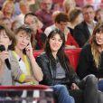 Exclu : Jane Birkin et ses trois filles à l'enregitrement de Vivement Dimanche