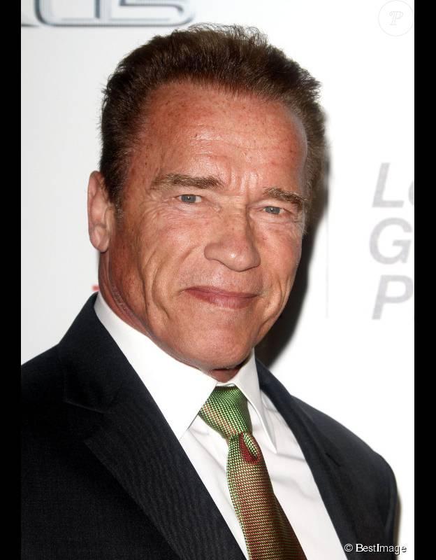 Arnold Schwarzenegger le 18 octobre 2014 sur le tapis rouge des Annual Environmental Media Awards. ©BESTIMAGE