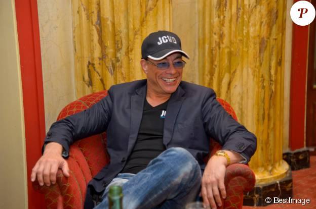 Jean-Claude Van Damme à l'hotel Bristol de Vienne le 16 avril 2013. ©BESTIMAGE