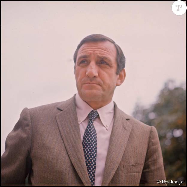 Portrait de Lino Ventura - archives. ©BESTIMAGE