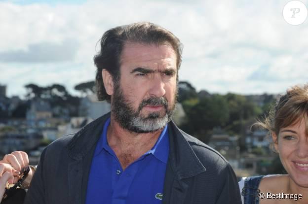 Eric Cantona au Festival du Film Britannique de Dinard le 5 octobre 2013. ©BESTIMAGE