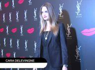 Cara Delevingne : Irrésistible espiègle pour une nuit de beauté