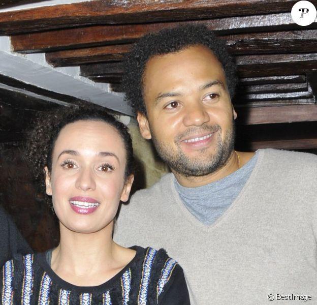 Amelle Chahbi, Noom Diawara et Fabrice Eboué - à Paris le 24 octobre 2012.