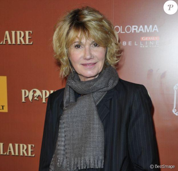 """Miou Miou - Dîner à la Villa lors de l'avant premiere du film """"Populaire"""" à Paris le 19 novembre 2012"""