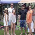 Cindy Crawford et Rande Gerber avec Patrick Dempsey et sa femme Jillian lors de vacances à Los Cabos, en mars 2013