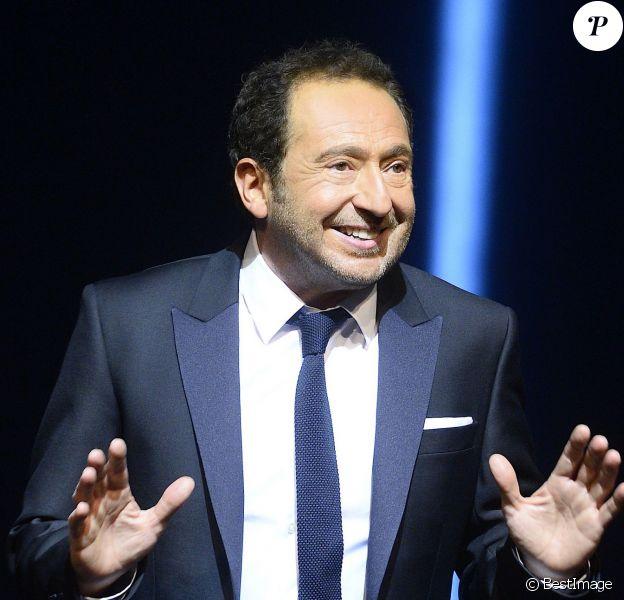 """Patrick Timsit - """"On ne peut pas rire de tout"""", nouveau spectacle de Patrick Timsit au Théâtre du Rond-Point à Paris le 19 janvier 2015."""