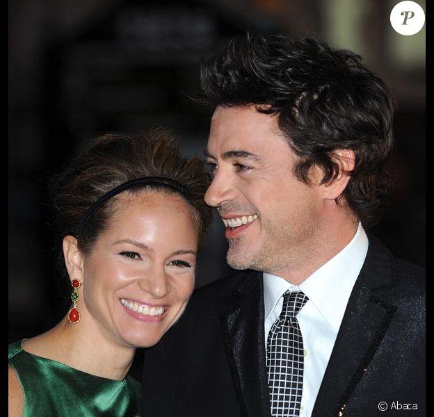 Robert Downey Jr et sa femme Susan...