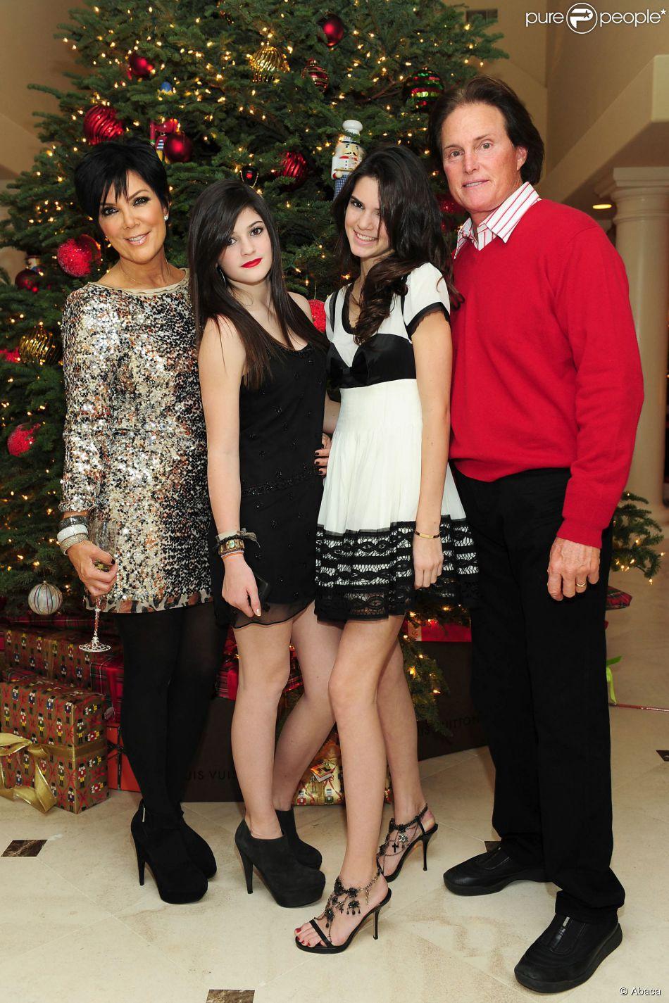 Kris, Kylie, Kendall Et Bruce Jenner Lors De La Soirée De