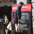 Exclusif - Robin Thicke va faire des courses avec son fils Julian au Bristol Farms à West Hollywood, le 1er février 2015.