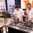 Jérémy et Florian, dans Top Chef 2015 sur M6, le lundi 2 février 2015.