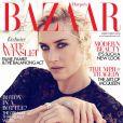 Kate Winslet en couverture du prochain numéro de Harper's Bazaar, où elle apparaît retouchée.
