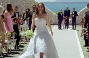 Natalie Portman : La jolie Miss Dior rejoue son mariage et s'évade