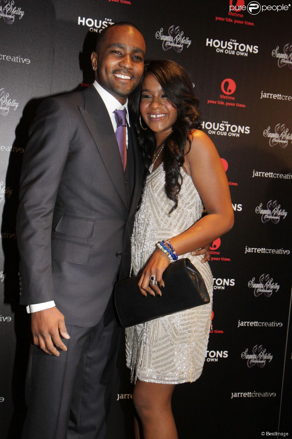 Bobbi Kristina Brown et Nick Gordon à New York, le 22 octobre 2012.