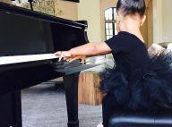 Kim Kardashian : Premières leçons de piano pour North, adorable danseuse étoile