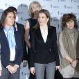 La reine Letizia d'Espagne lors de la journée mondiale contre le cancer à Madrid, le 4 février 2015