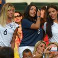 Fiona Cabaye, Mazda Magui, Ludivine Sagna lors du match entre la France et l'Equateur au Maracana de Rio de Janeiro, le 25 juin 2014